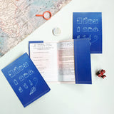 PP004 - Slim Passport Cover - Paper Planes