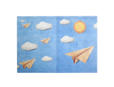 PP005 - Slim Passport Cover - Paper Planes