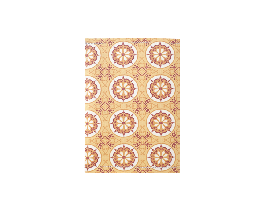 PP006 - Slim Passport Cover - Vintage Floral Pattern