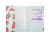 PP018 - Slim Passport Cover - Melon Passport Holder