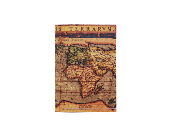 PP027 -Slim Passport Cover - Ancient Map Passport Case