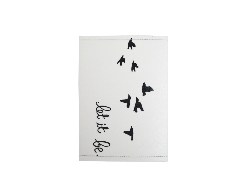 PP034 - Slim Passport Cover - Birdy, Let it be
