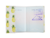 PP037 -Slim Passport Cover - Tiny Pineapple Passport Case