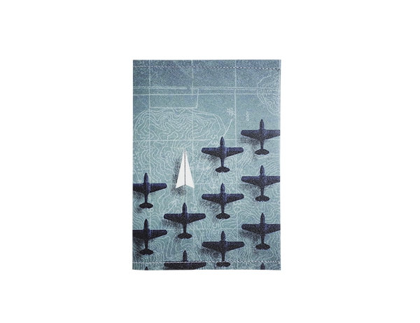 PP053 - Slim Passport Cover - Planes