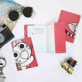 PP058 - Slim Passport Cover - Chii Cat