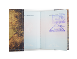 PP062 - Slim Passport Cover - World Map