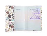 PP077 - Slim Passport Cover - Cupcakes