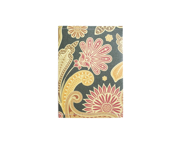 PP080 -Slim Passport Cover - Vintage Floral Passport Case