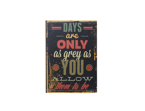 PP081 - Slim Passport Cover - Life Quote Passport Cover