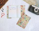 PP085 - Slim Passport Cover - Vintage Floral Passport Case