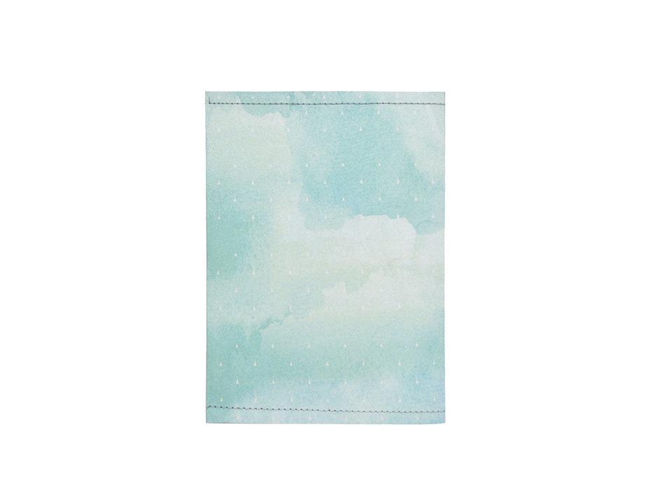 PP097 - Slim Passport Cover - Blue Sky
