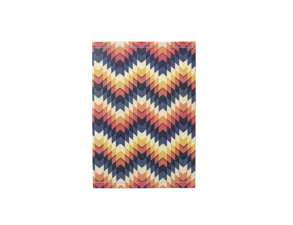 PP100 - Slim Passport Cover - Triangle Patterns