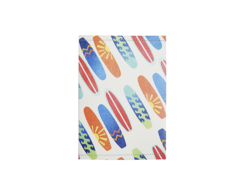 PP109 - Slim Passport Cover - Surfboards