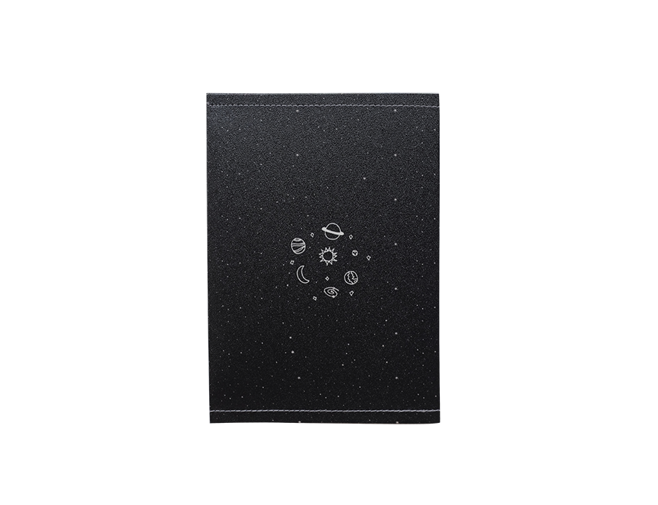 PP110 - Slim Passport Cover - Planets Passport Case