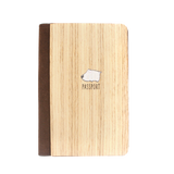 PC006 - Handmade Wooden Passport Cover, Animal passport case - Puppy