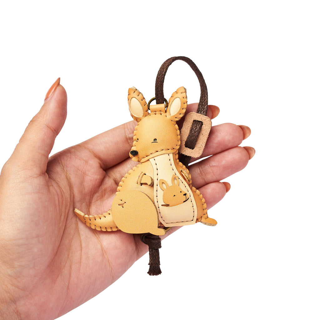Kangaroo Leather Charm - PT071
