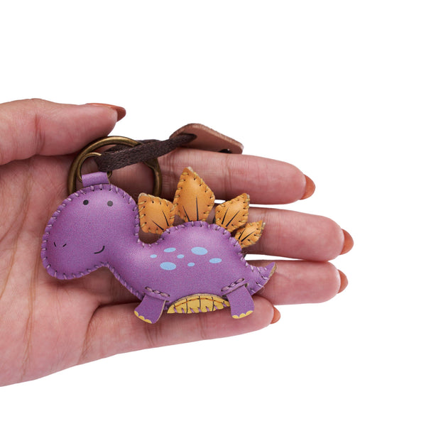 Stegosaurus Leather Charm - PT091