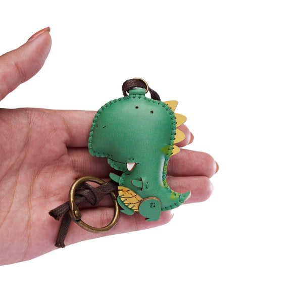 T-rex Leather Charm - PT094