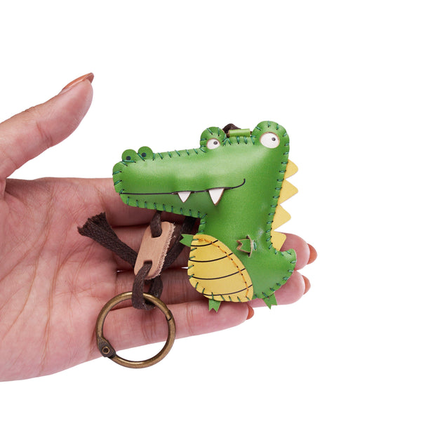 Crocodile / Alligator Leather Charm - PT088