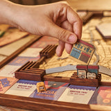 SAIGONOPOLY Wooden Board Game