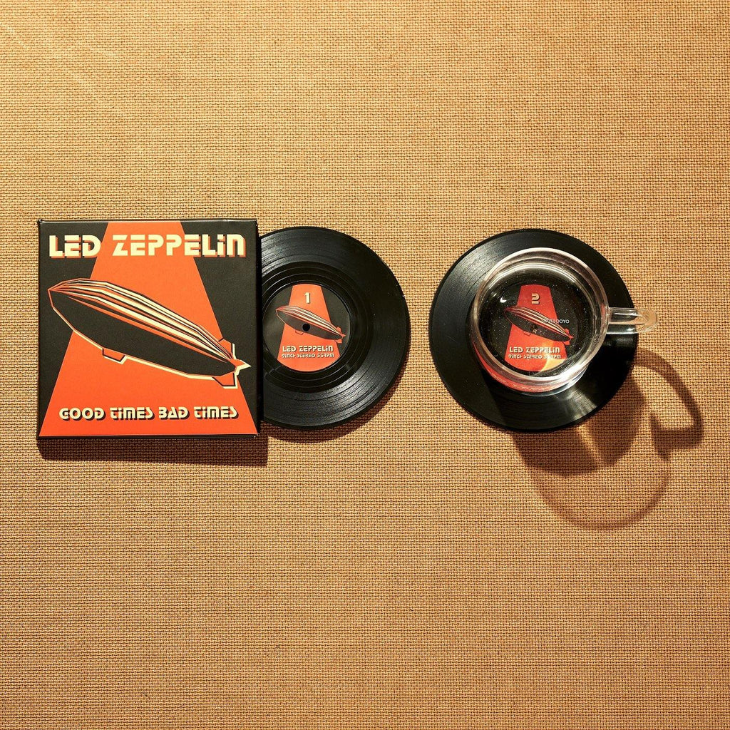 Led Zeppelin's Good Times Bad Times Coasters