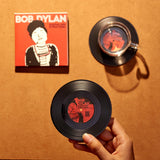 Vinyl Record Coasters, Set of 2, Bob Dylan: Another Side - CS007