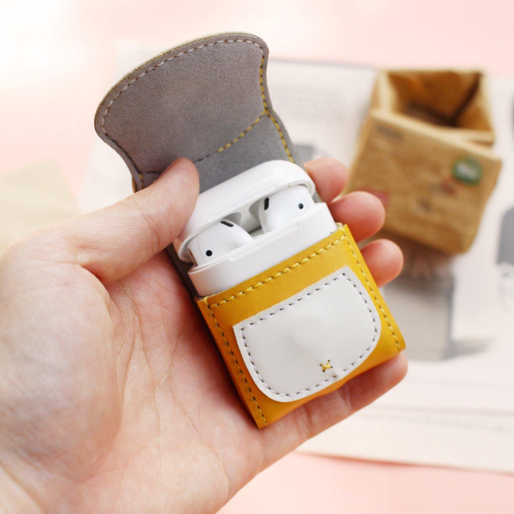 Cat Leather Airpod Case - AP024 - shop3xu