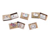 SE007 - Set of 5 Birthday Matchboxes - Birthday Matchbox-Card Set