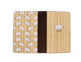 PC009 - Handmade Wooden Passport Cover - Porcupine