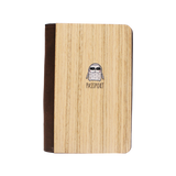 PC005 - Handmade Wooden Passport Cover - Sloth