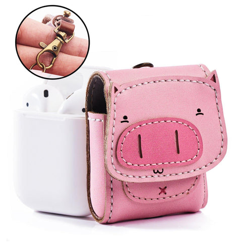 Pig Leather Airpod Case - AP008