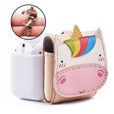 Unicorn Leather Airpod Case - AP009