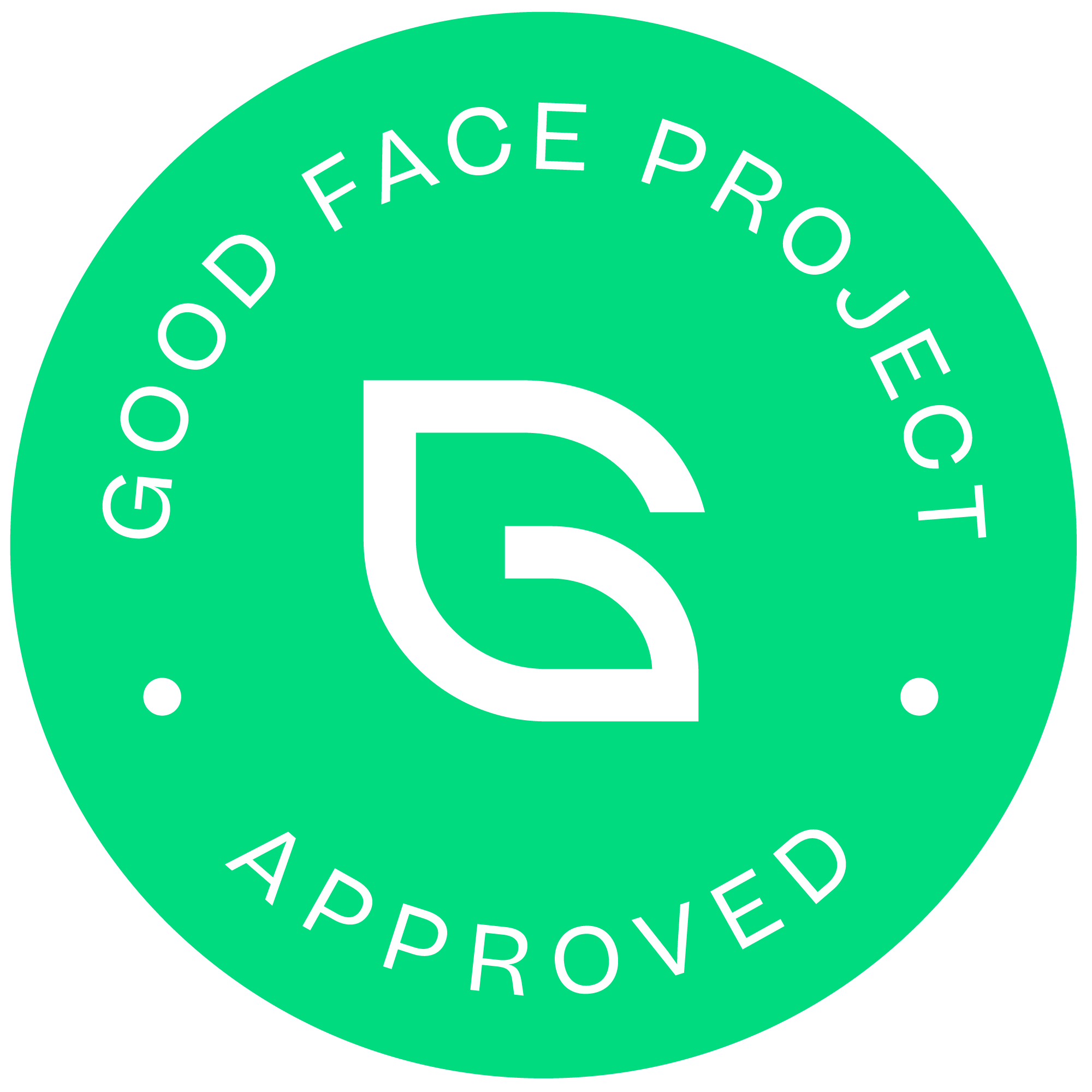 Good Face Project Certified