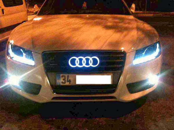 Audi LED Emblem Light RAYMAX LUMINOUS GEAR - Audi car emblem