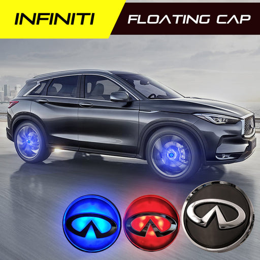 Infiniti Floating Wheel Caps