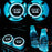 2 Pcs Audi Smart LED Luminous Coaster