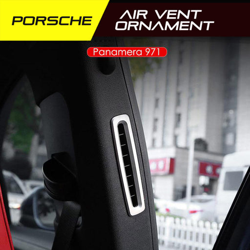 Porsche Panamera Air Vent Ornament