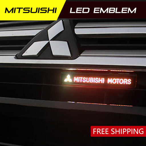 Mitsubishi LED badge light