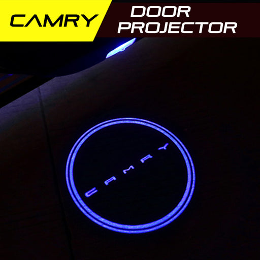 LED Door Projector Ultra-Bright Puddle Lights for Toyota Camry 2018-2019 Gen 8