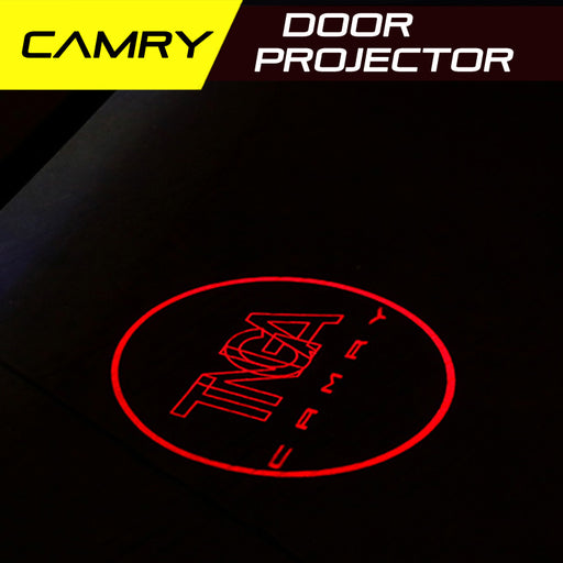 LED Door Projector Welcome Lights for Toyota Camry 2018-2019 Gen 8 Gen 7