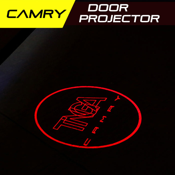 LED Door Projector Welcome Lights for Toyota Camry 2018-2019 Gen 8