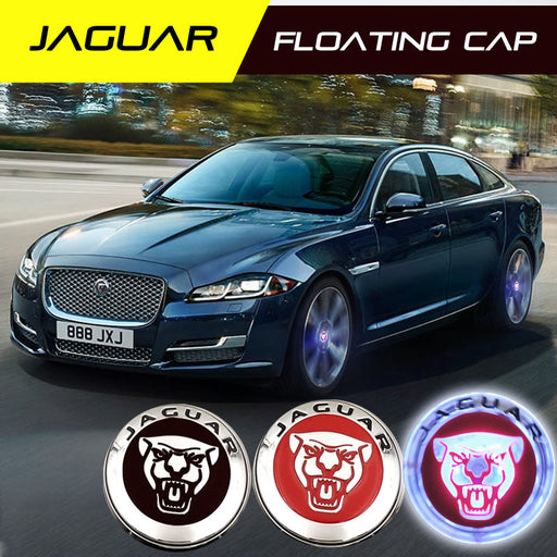 JAGUAR  Floating Wheel Caps - 4 PCS