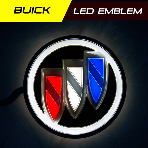 Buick LED Radiant Emblem front grille badge light
