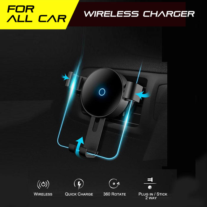 10W Wireless Charger Car Mount