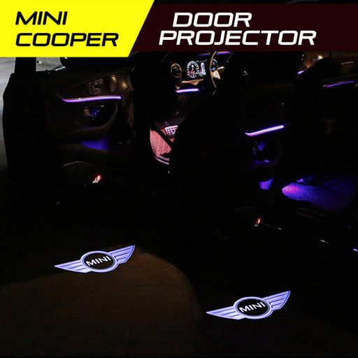 LED Door Projector Welcome Lights for Mini Cooper