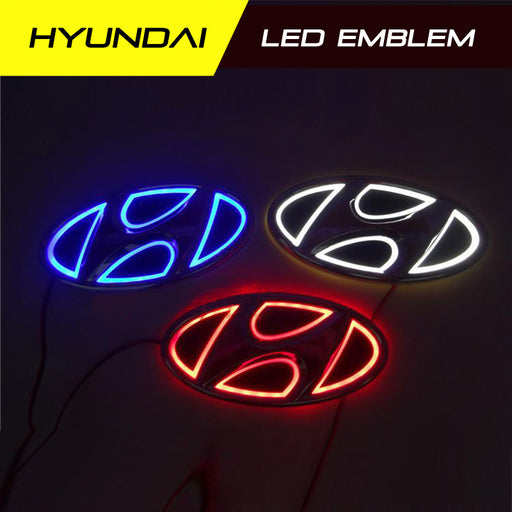 Hyundai LED Radiant Rear Emblem Badge Light