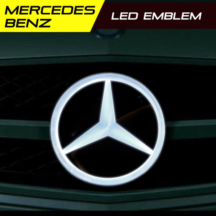 Mercedes Benz LED Radiant Emblem front grille badge light