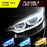 Flexible LED Running Lights Turn Signal Light DRL With Remote Control