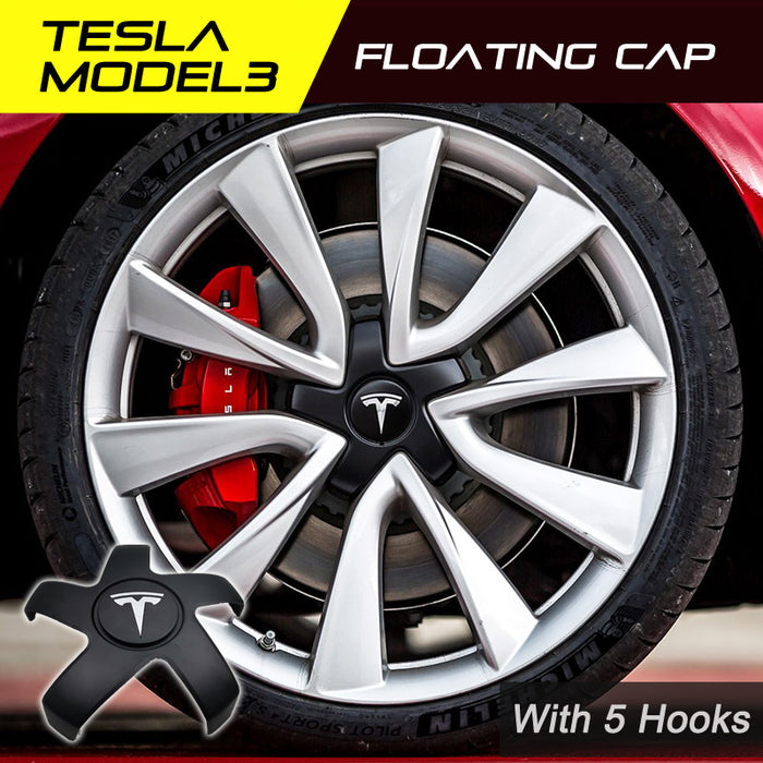 Tesla Model 3 LED Wheel Cap with 5 Hooks