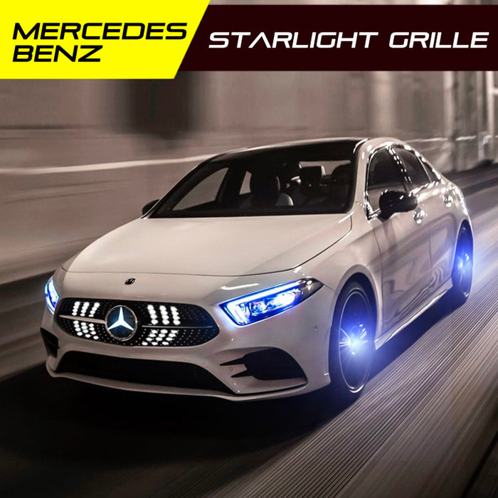Mercedes Benz LED starlight grille